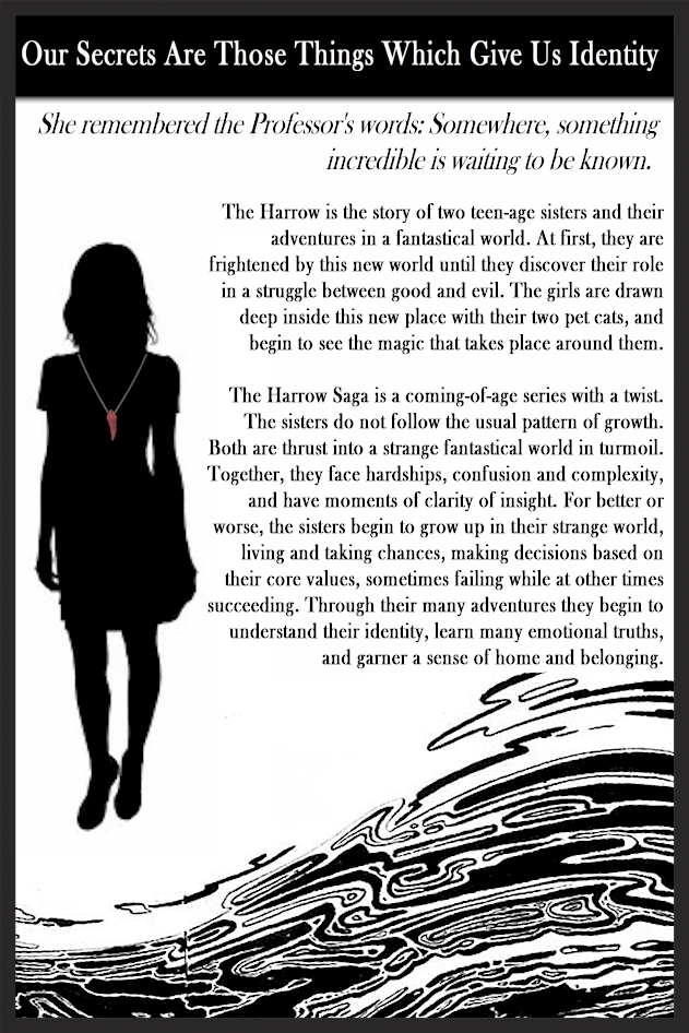 Omni Publishers is pleased to reveal the new back cover to the Harrow Saga. www.theharrowbooks.com