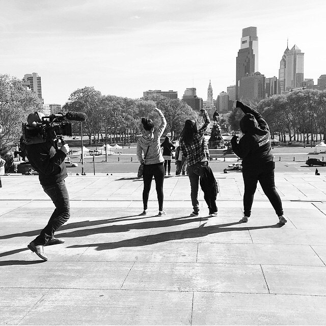 11|08|2014 Netflix #Rocky #Philly Regram @mollhayes #smithandtopaz
