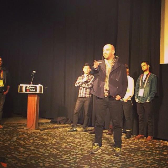 Topaz @Sundance premiering {TheAnd}. |0252015| @the_skindeep #sundance2015