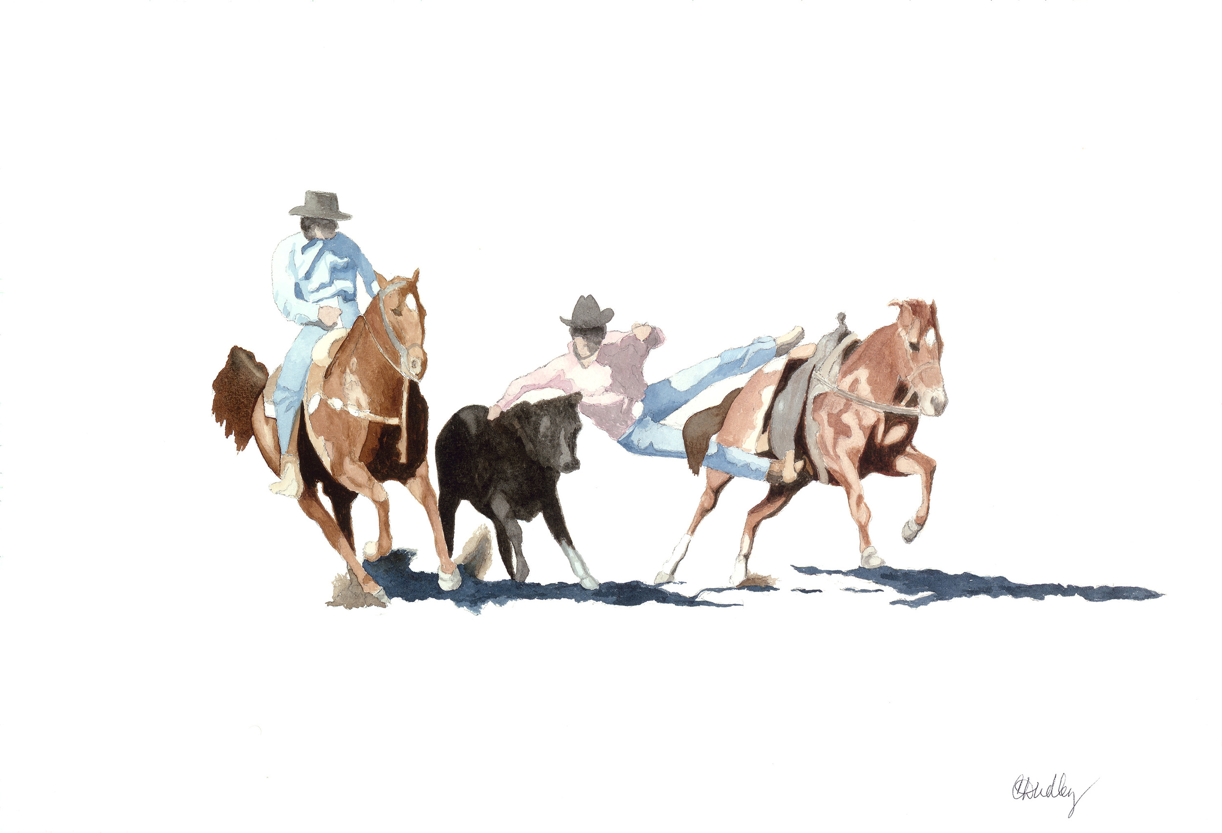 Rodeo Scenes   #6