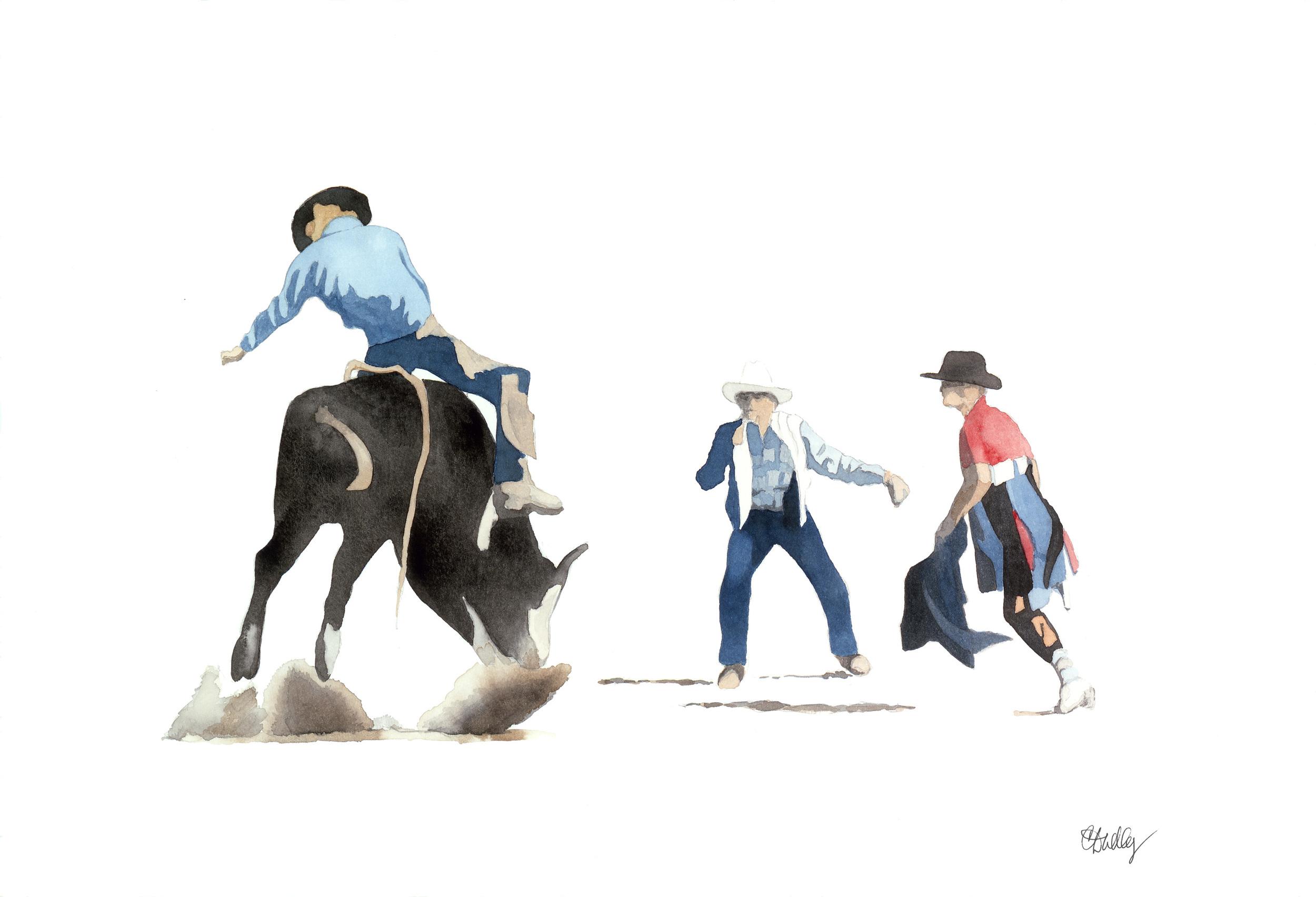 Rodeo Scenes   #8