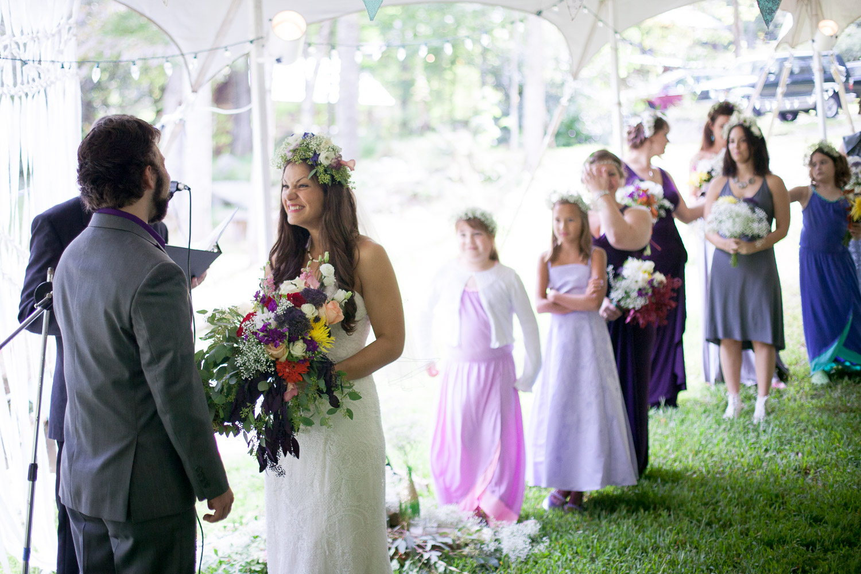 Laughing Waters Retreat Wedding