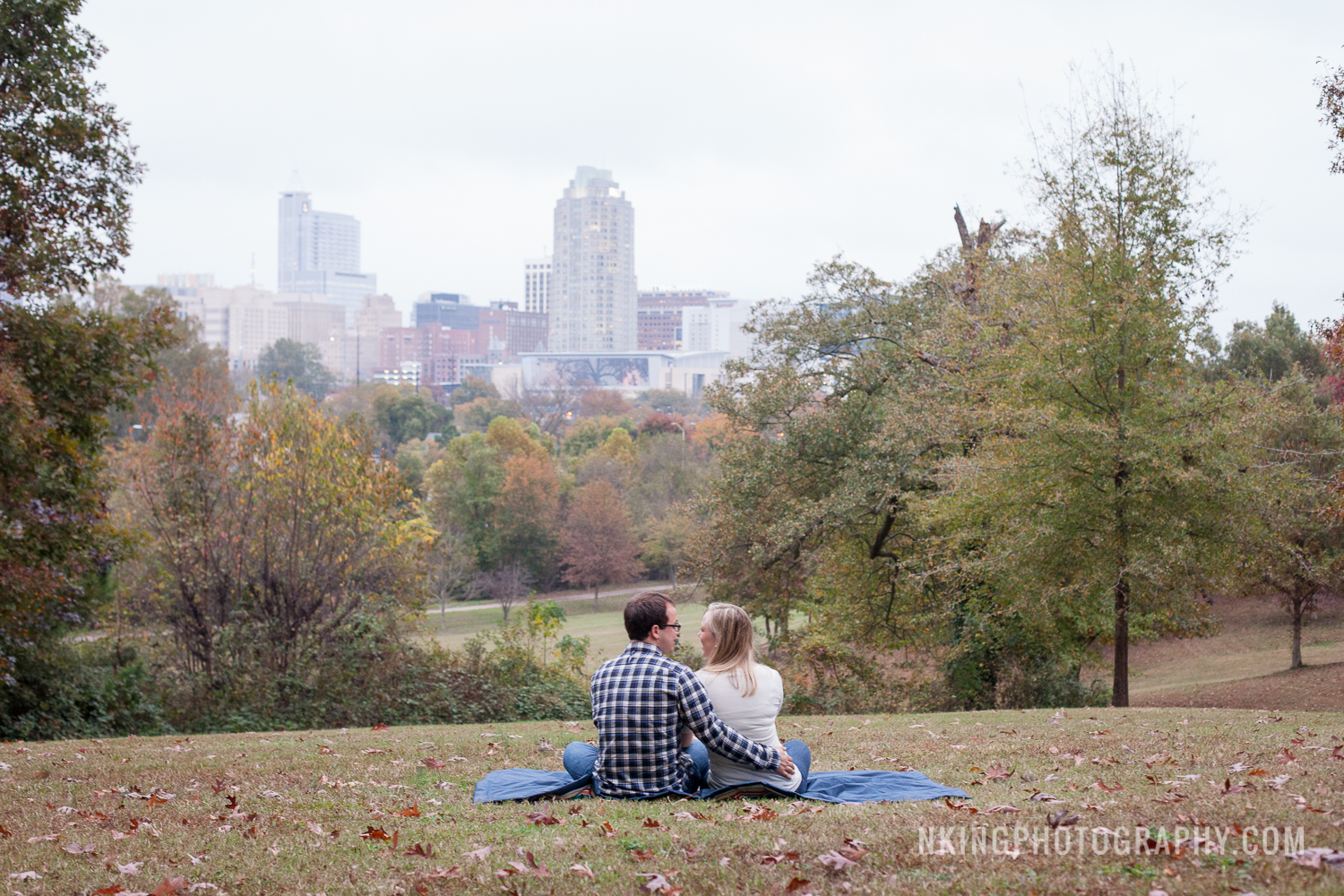 Downtown Raleigh Engagement Shoot Dorthea Dix