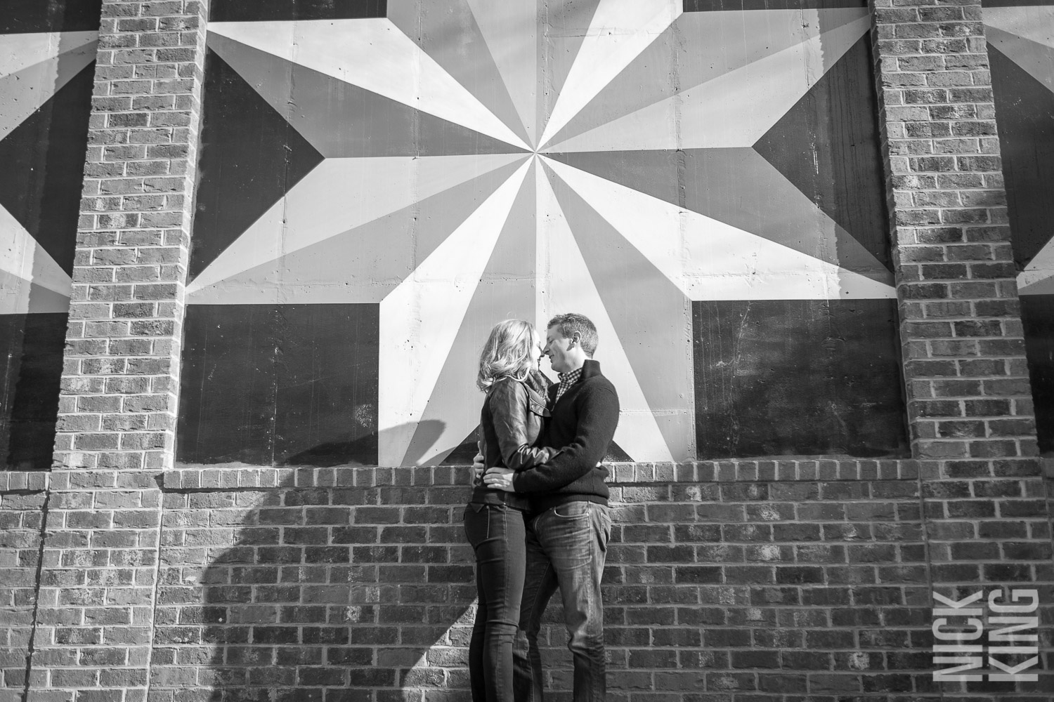 Asheville Brewery Engagement Photography