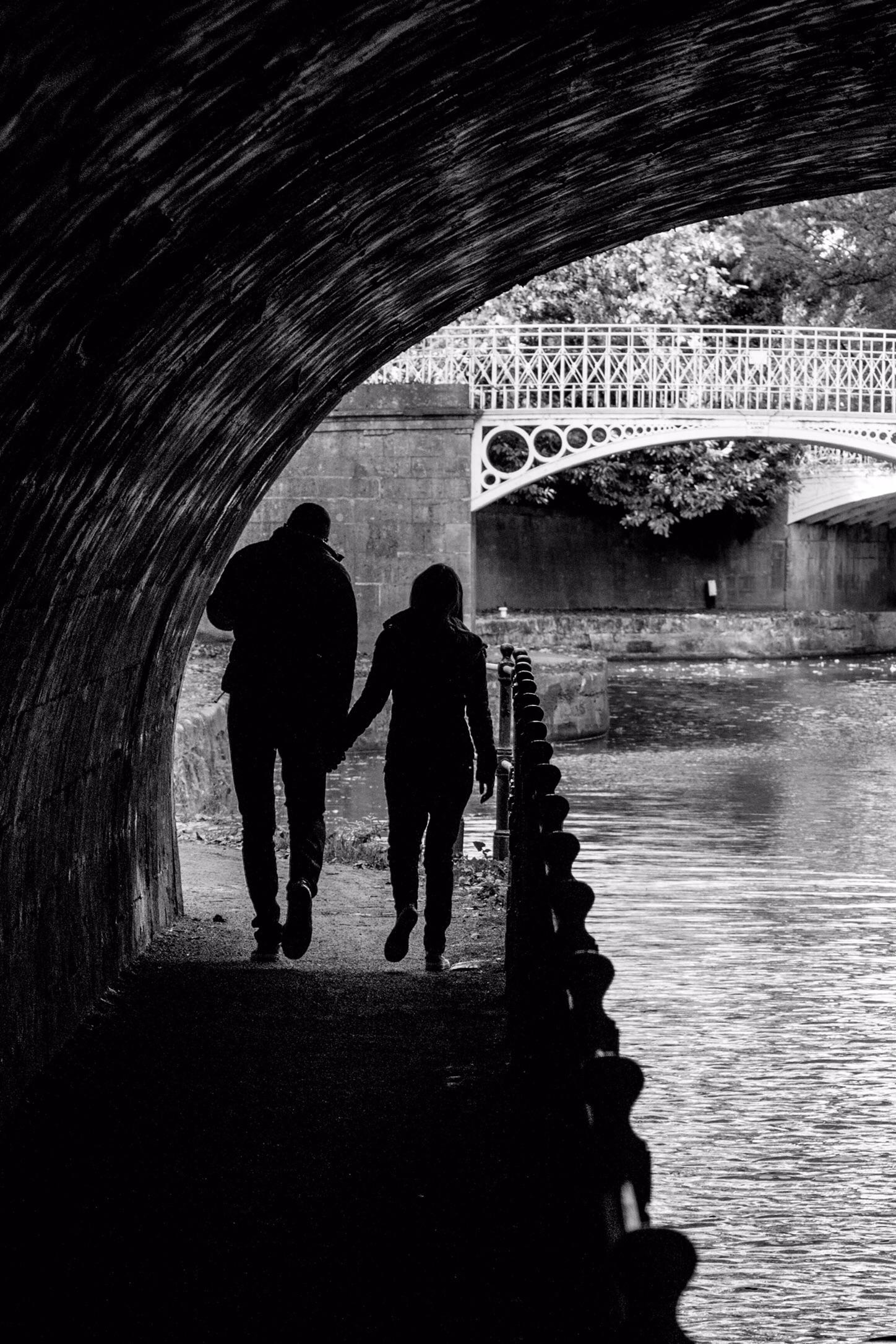 Kennet and Avon canal, Sydney Gardens, Bath