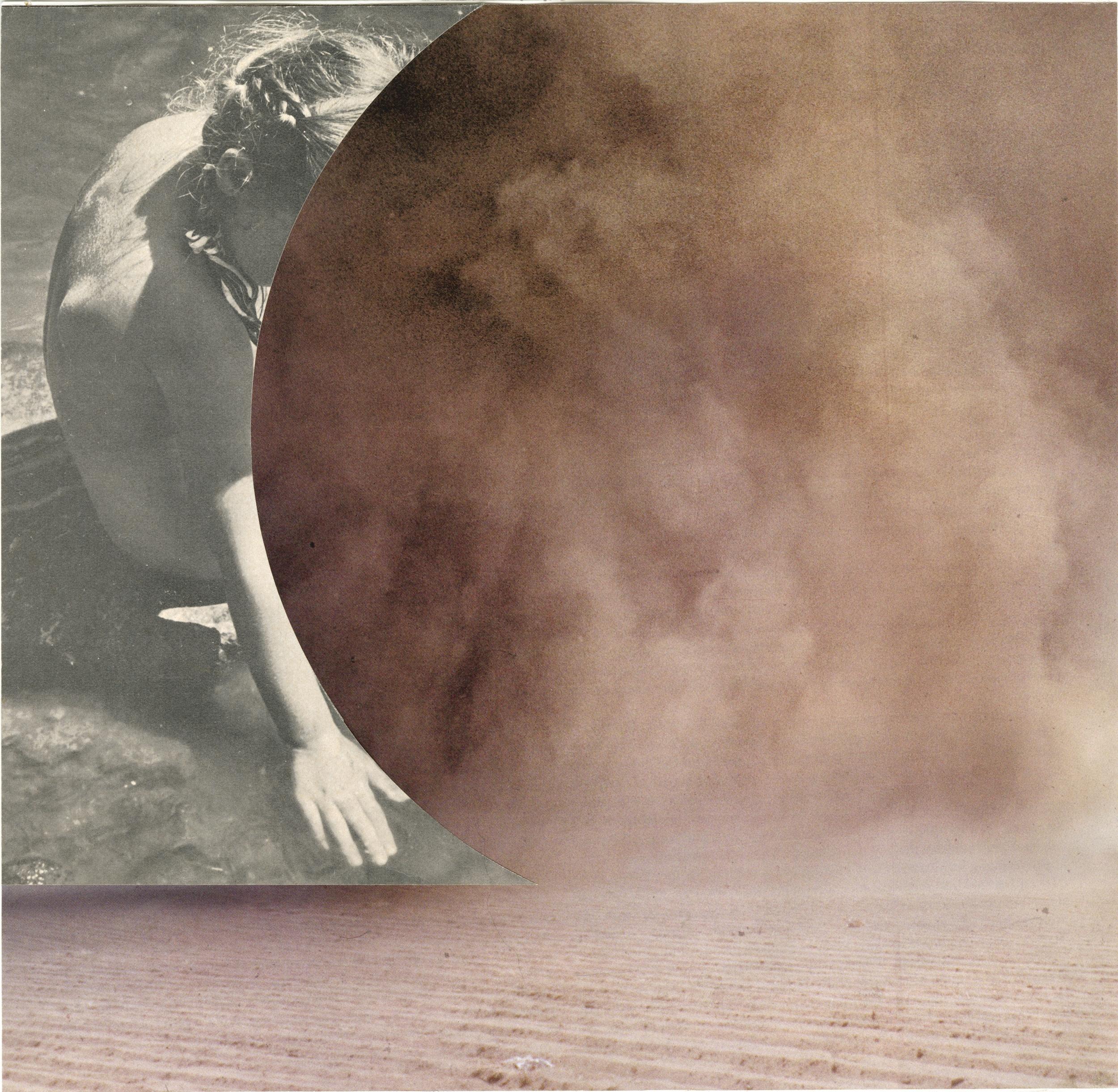 Girl, Sand, and Smoke