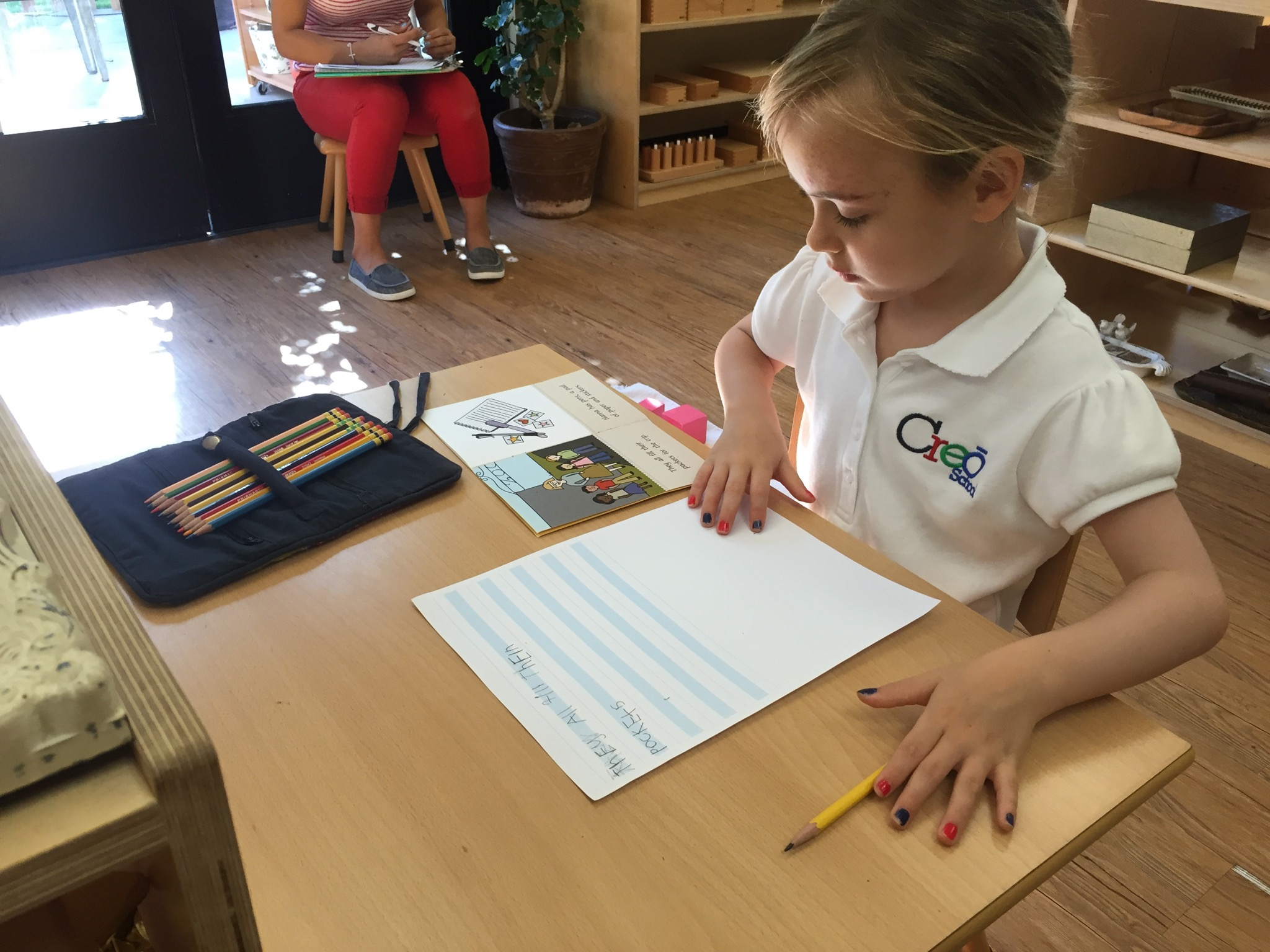 Story writing and Illustrating