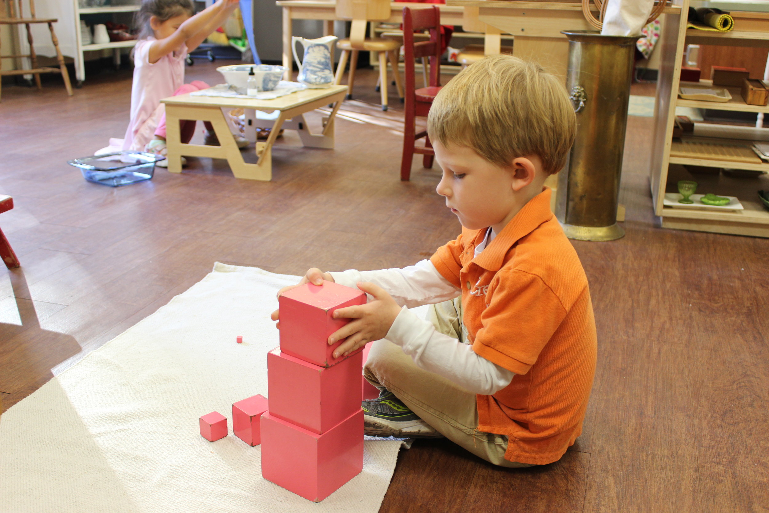 Building the Pink Tower