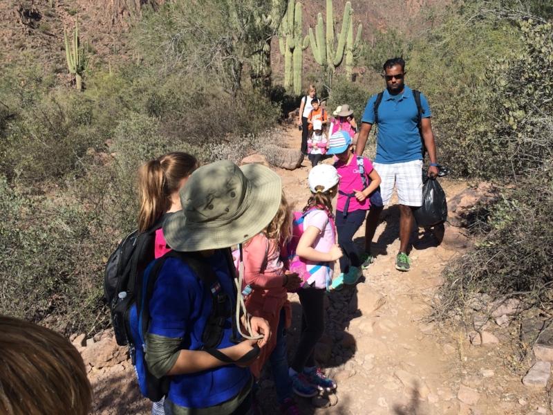 Hike to Hieroglyphic Trail