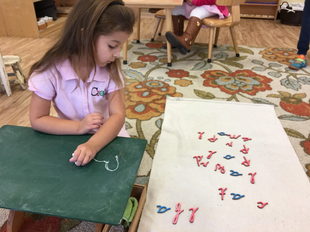 Formation of Letters