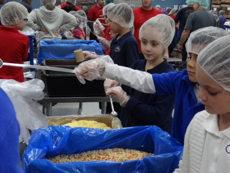 """Field Trip to """"Feed My Starving Children"""""""