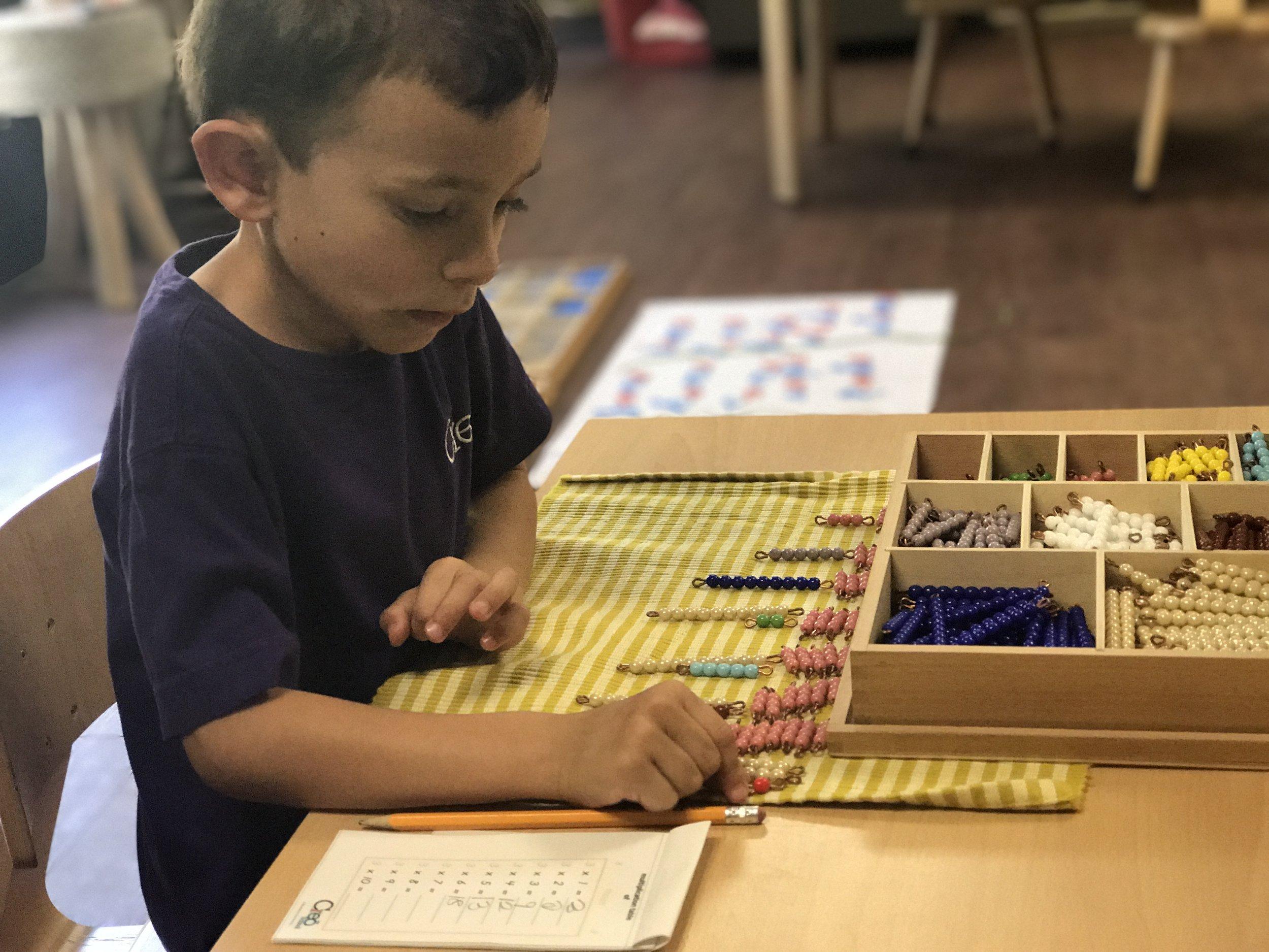 Multiplication Bead Bars