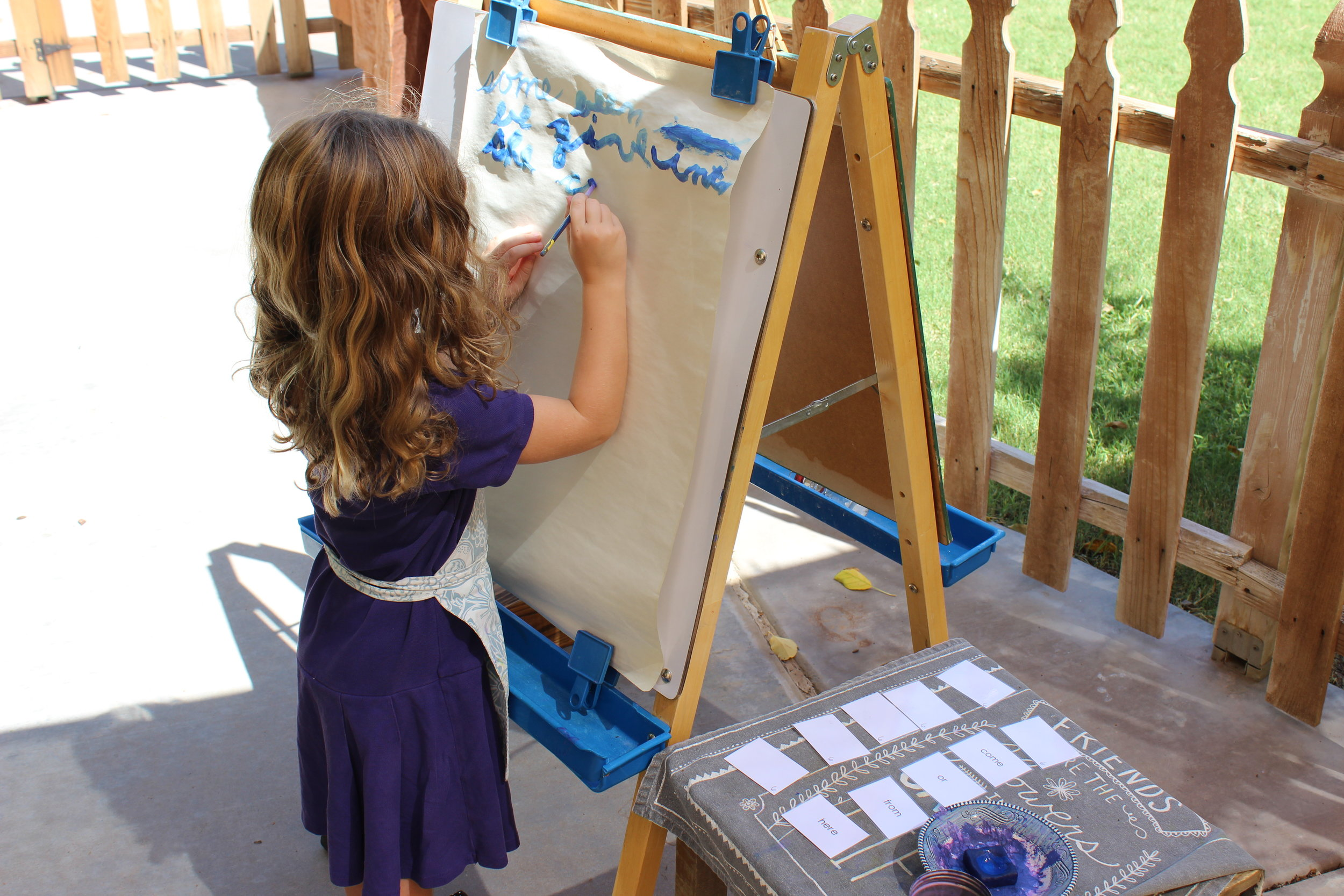 Painting Puzzle Words