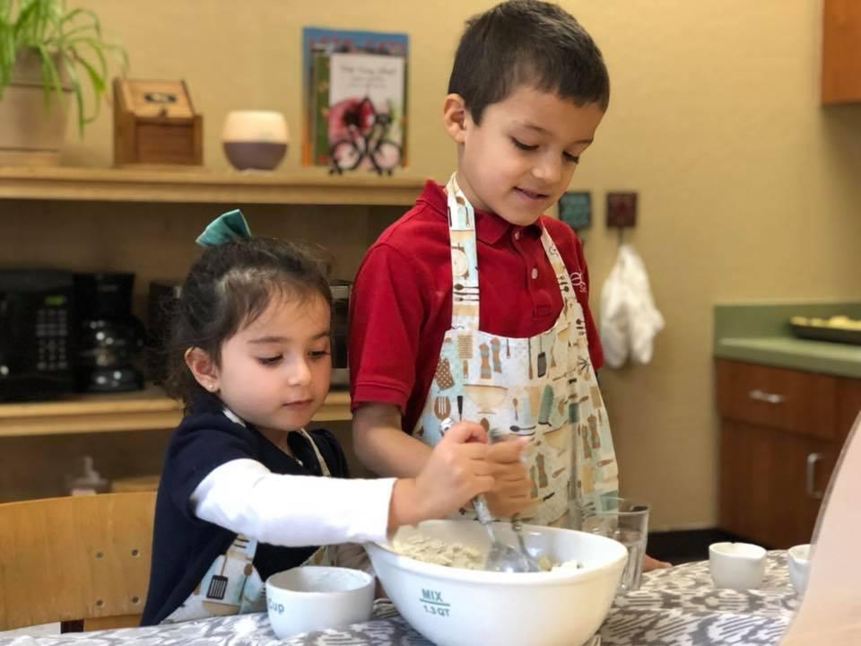Baking Together