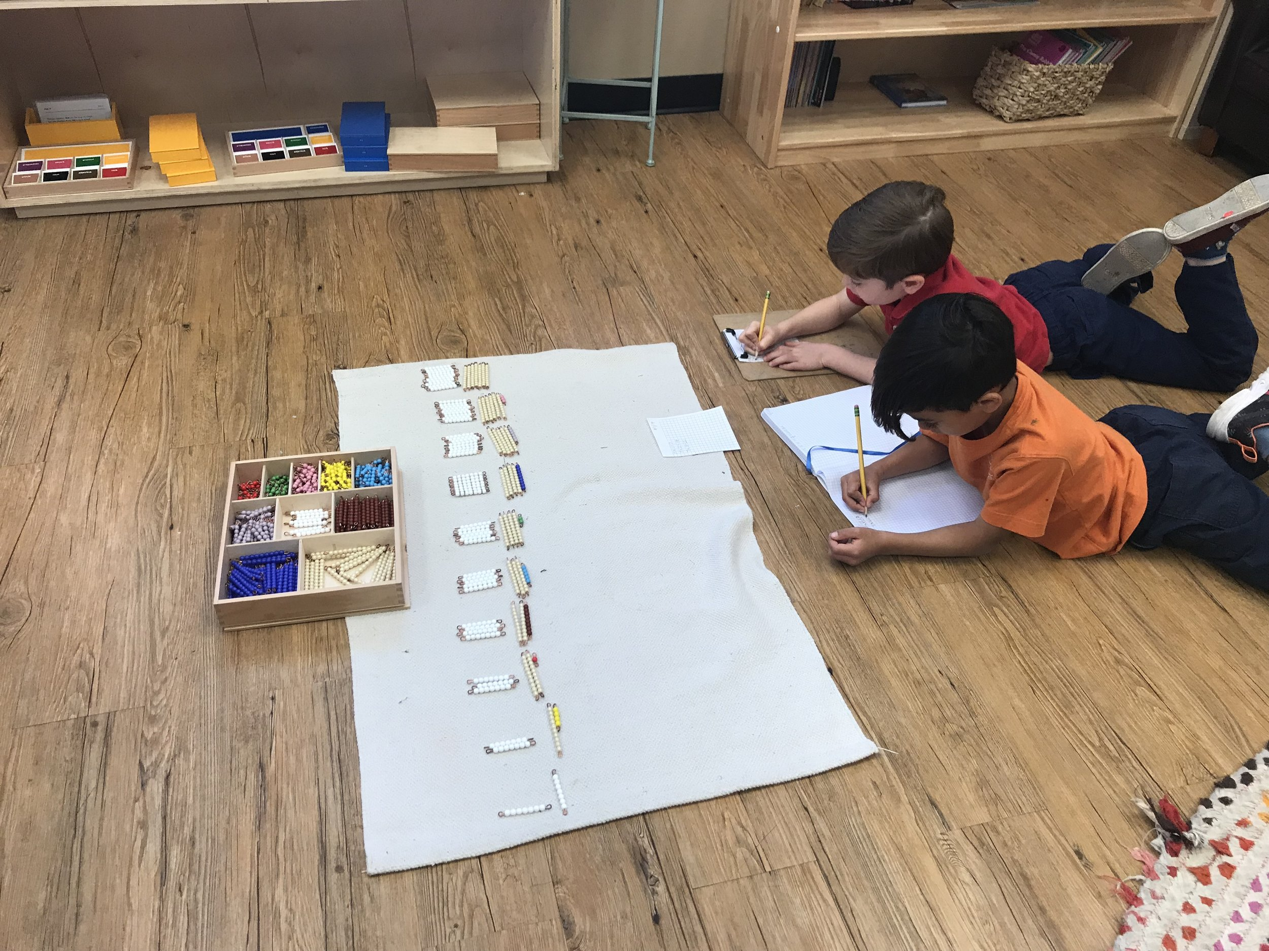 Multiplication with Bead Bars