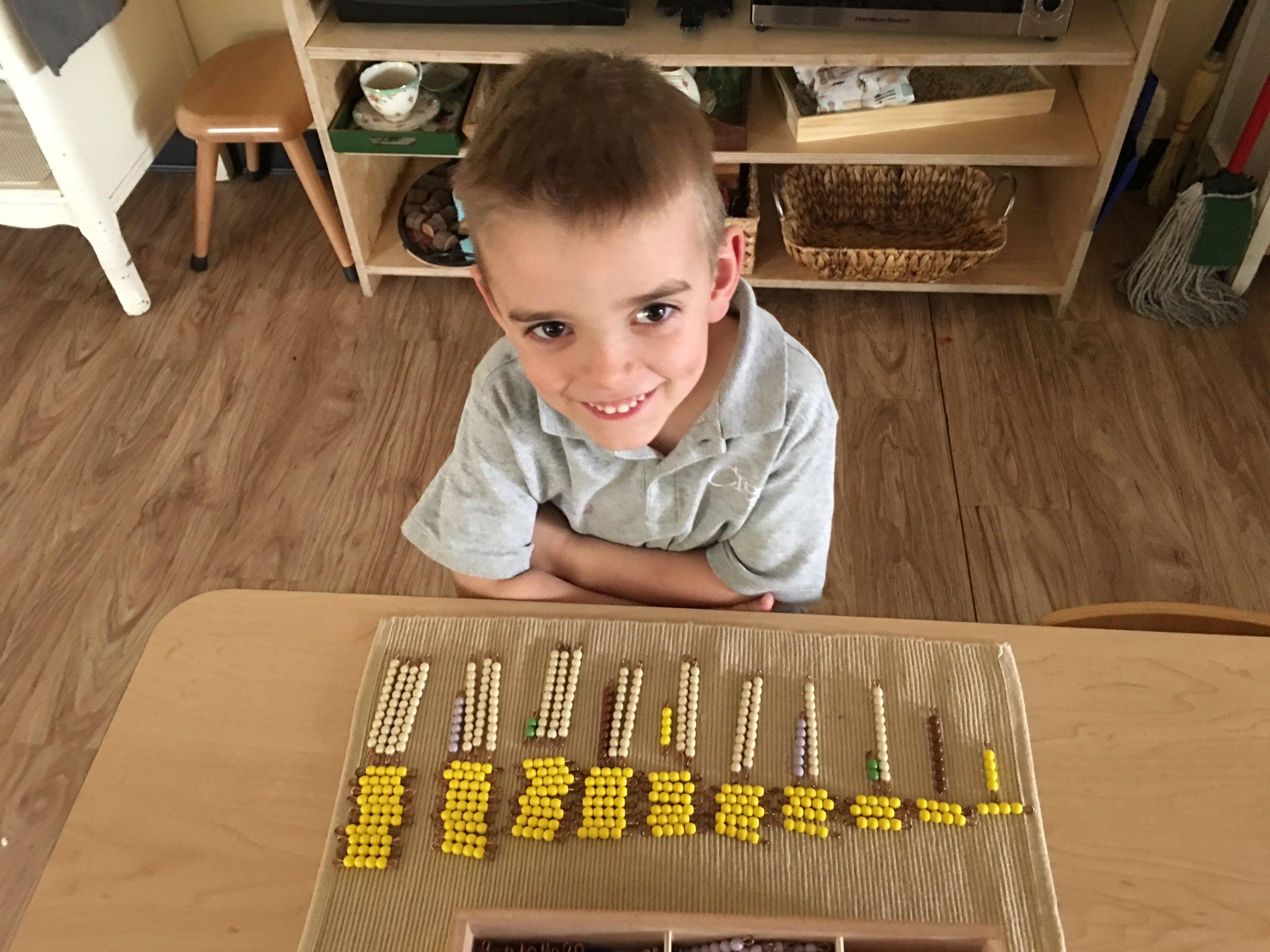 Multiplication Bead Box