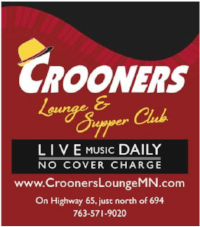 Lori Dokken and I are gathering up familiar, friendly tunes for a Happy Humpday Hootenanny at Crooners in the Main Lounge. Join us in song!
