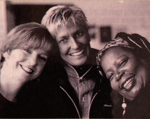 "Judi Donaghy (Vinar), Lori Dokken & Debbie Duncan were the ""3 D'S"""