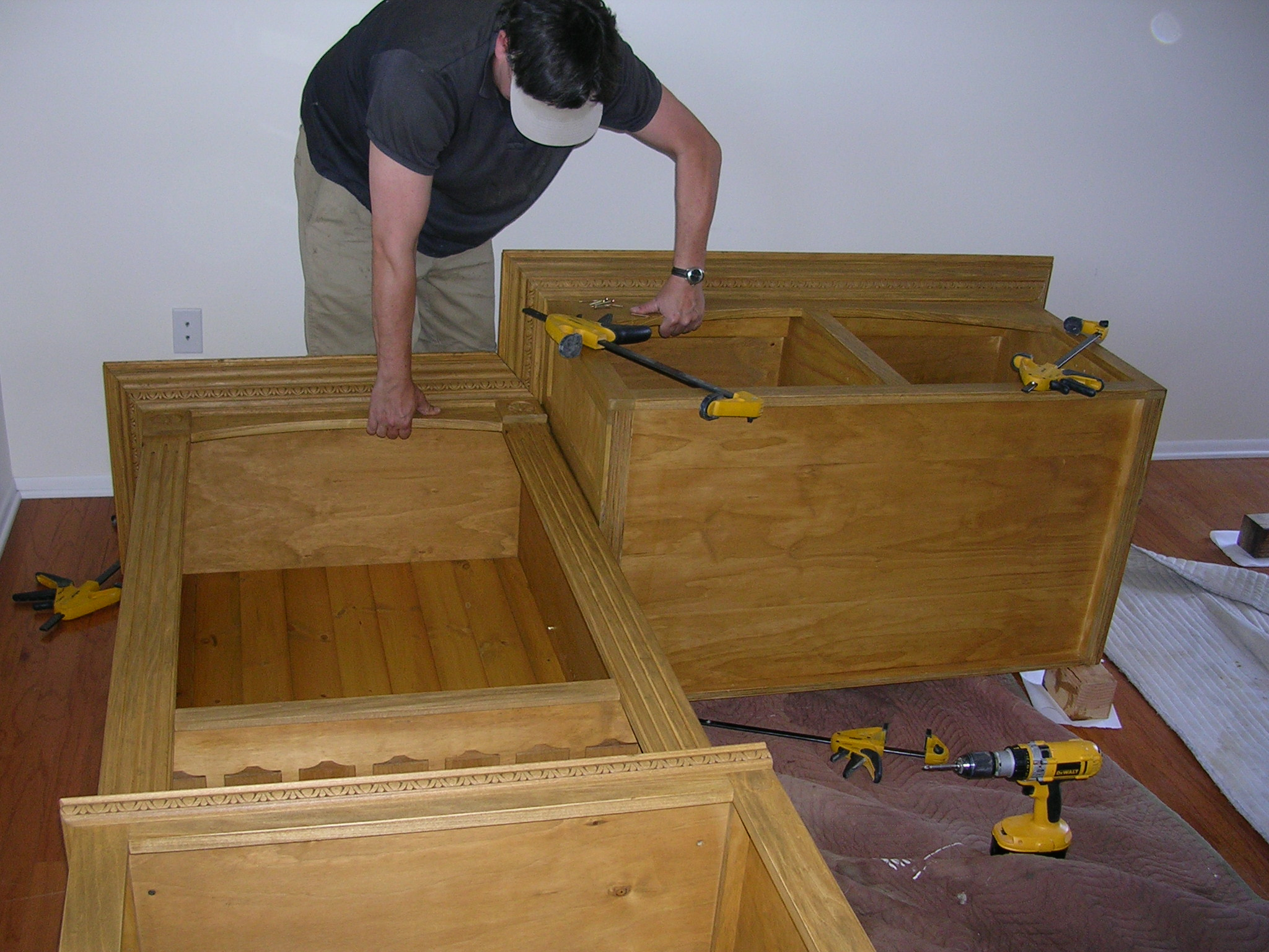 Fine Pine Designs SB Cabinet Construction with Pete Palmer.JPG