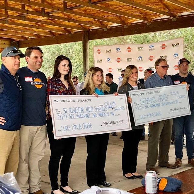 Had an incredible time last week at the 6th Annual Clays for a Cause charity event put on by @mastercraftbuildergroup supporting two fantastic local causes, @stayouthservices and @seamarkranch. Hundreds of shooters from across NE Florida came together to raise well over $100k for those two great organizations. Looking forward to sponsoring again in year 7! #claysforacause #sportingclays #landscapearchitecture #staugustine
