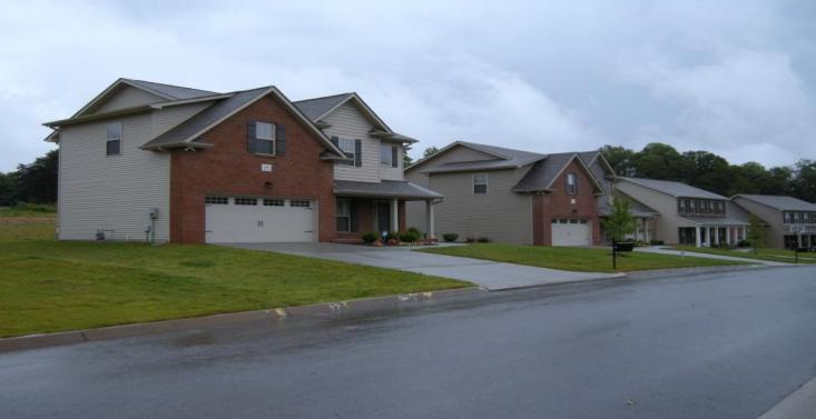 The average neighbors' homes.
