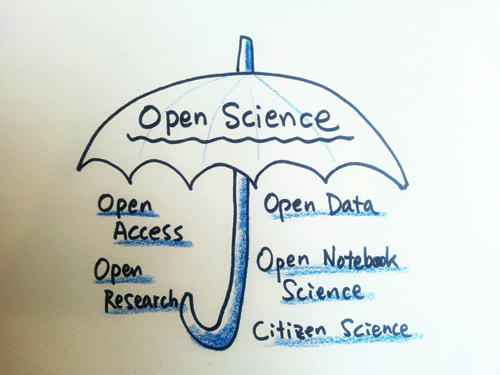Open science is an umbrella term for multiple principles that impact how science gets done.