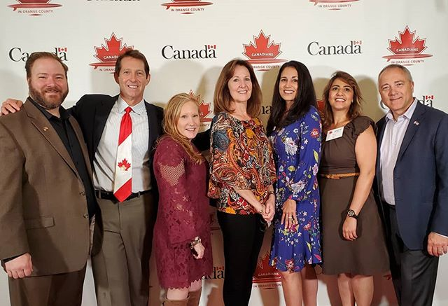Happy Thanksgiving from Canadians in OC, from our 9th annual celebration! And thanks to our wonderful volunteers!