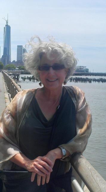 Author T.K Thorne in New York City.