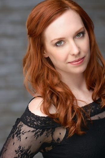 Kate Hackett, who writes and produces  Classic Alice , as well asplays theprotagonist, Alice Rackham.