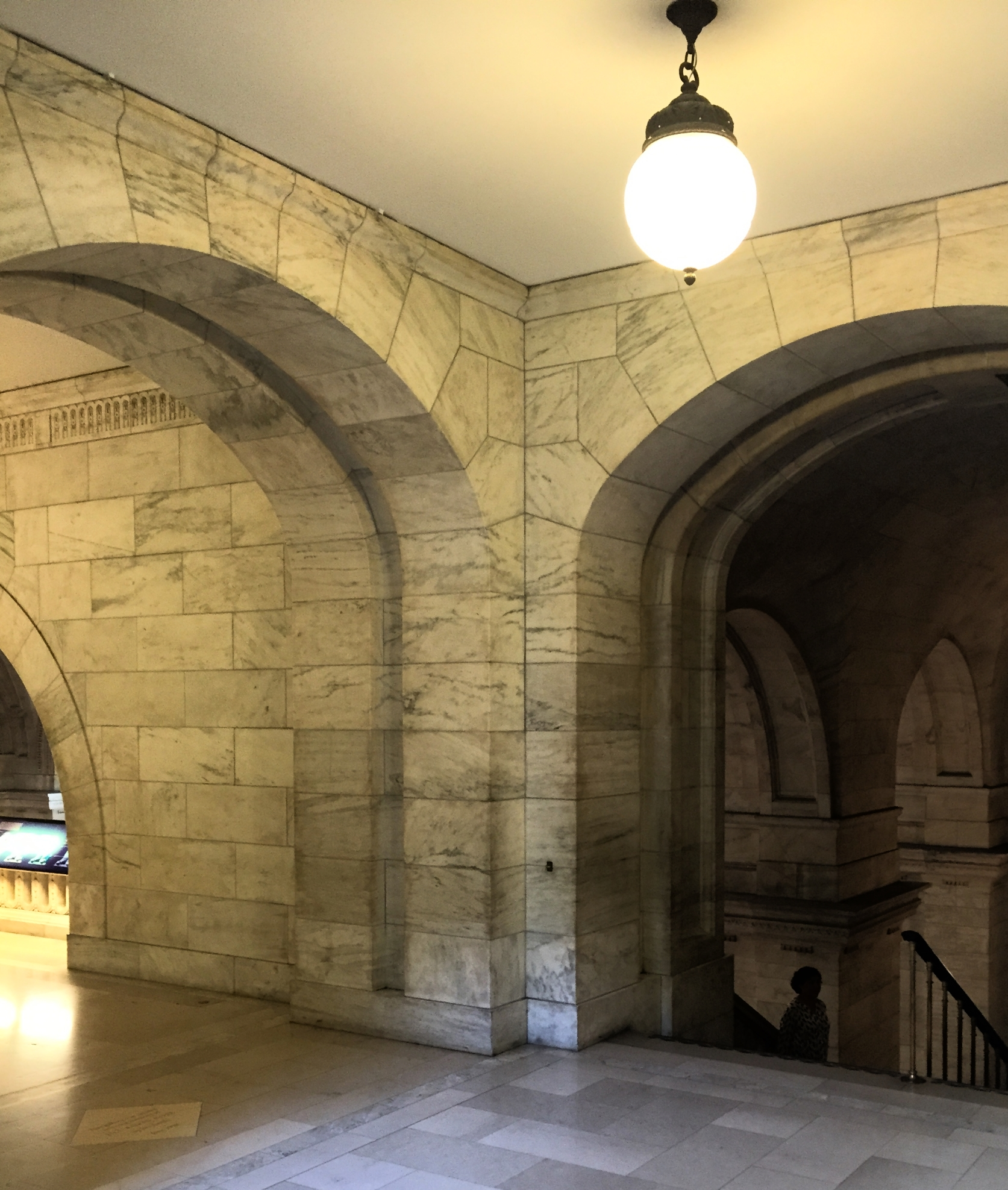 If you didn't know you were in the NYPL, you could totally be in Hogwarts.