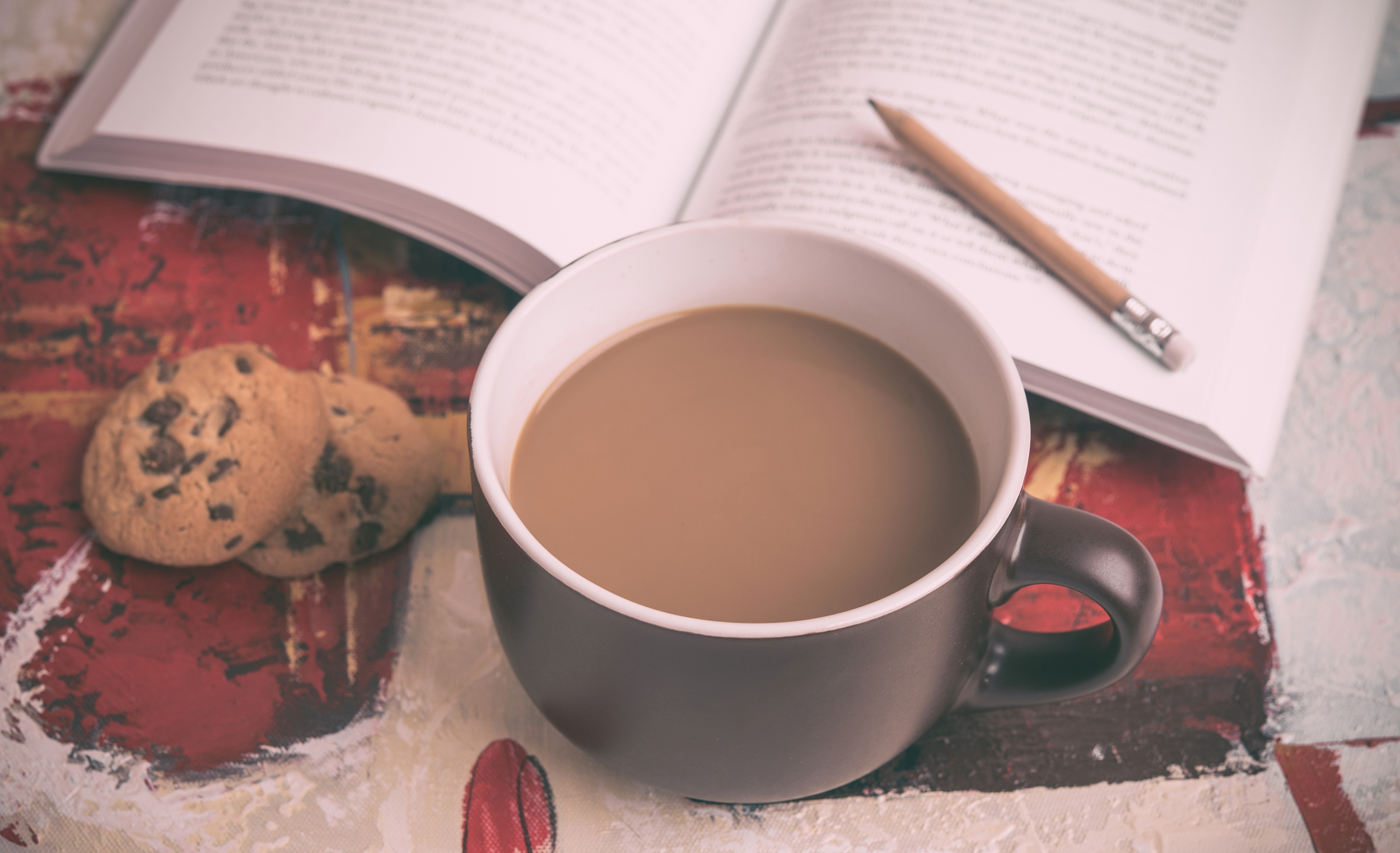 Wouldn't you love to go to class from the comfort of your couch while having your coffee and eating cookies?  Source:  unsplash