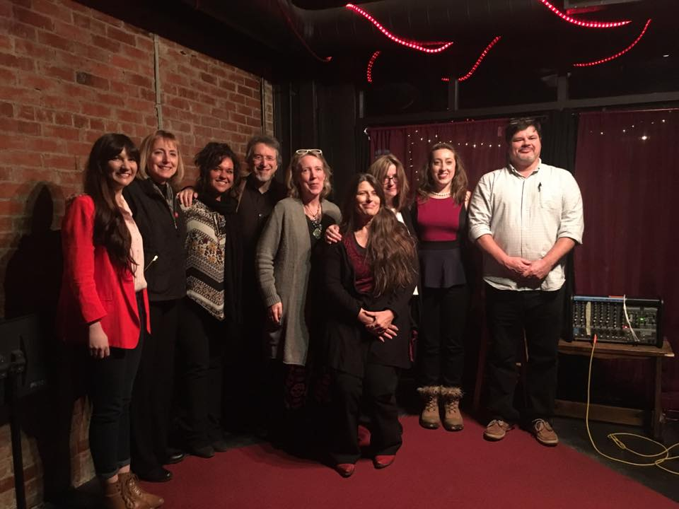 Group photo with the editors of New Southerner Magazine and the winners of their 2016 poetry and nonfiction contests.  Photo by nonfiction winner Karen Salyer McElmurray
