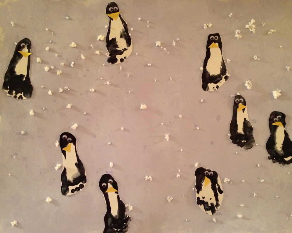 Nursery Group Project: Penguins