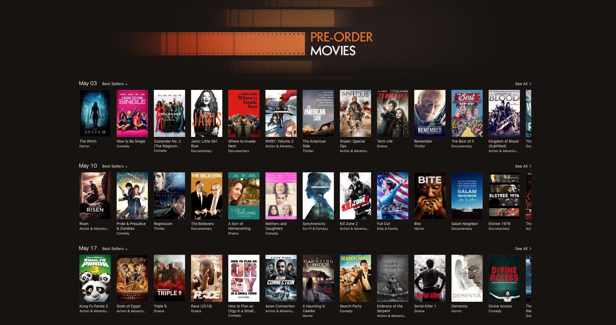 The Best of It is available to pre-order on  iTunes . You can also pre-order on  Vimeo On Demand.