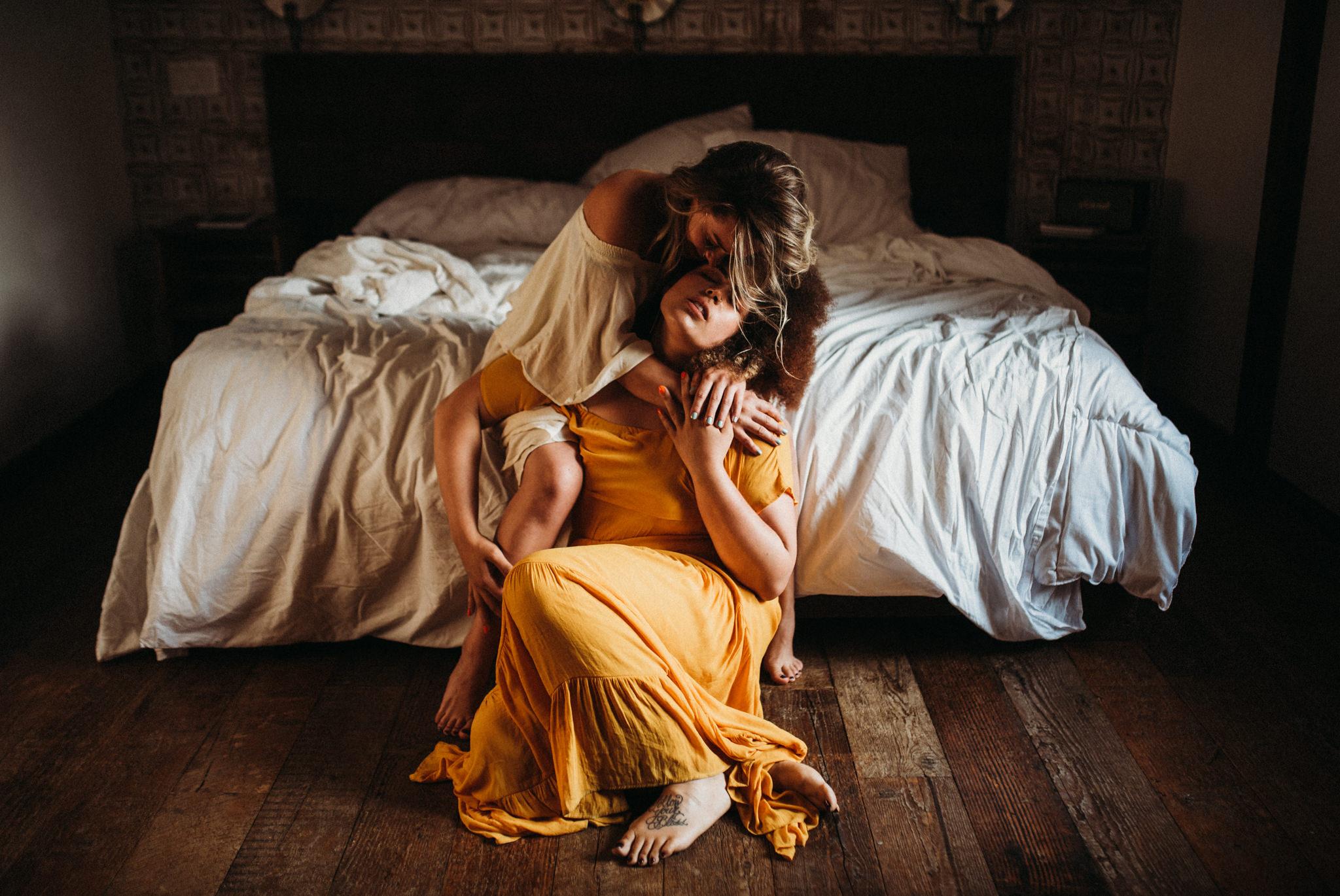 twyla jones photography | www.twylajones.com | intimate in home couples shoot urban cowboy b&b brooklyn new york