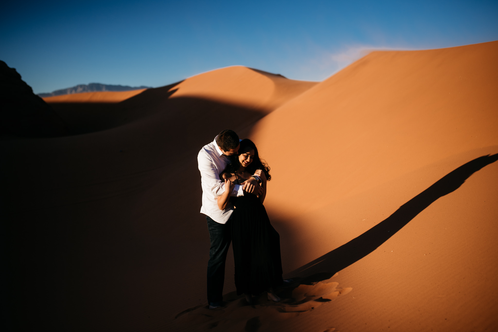 twyla jones photography | couples engagement session sand dunes utah sunset stars-21.jpg