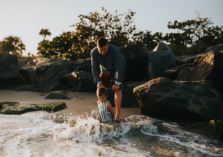 twyla jones photography - south florida family photographer - fort pierce sunset beach family session-5.jpg