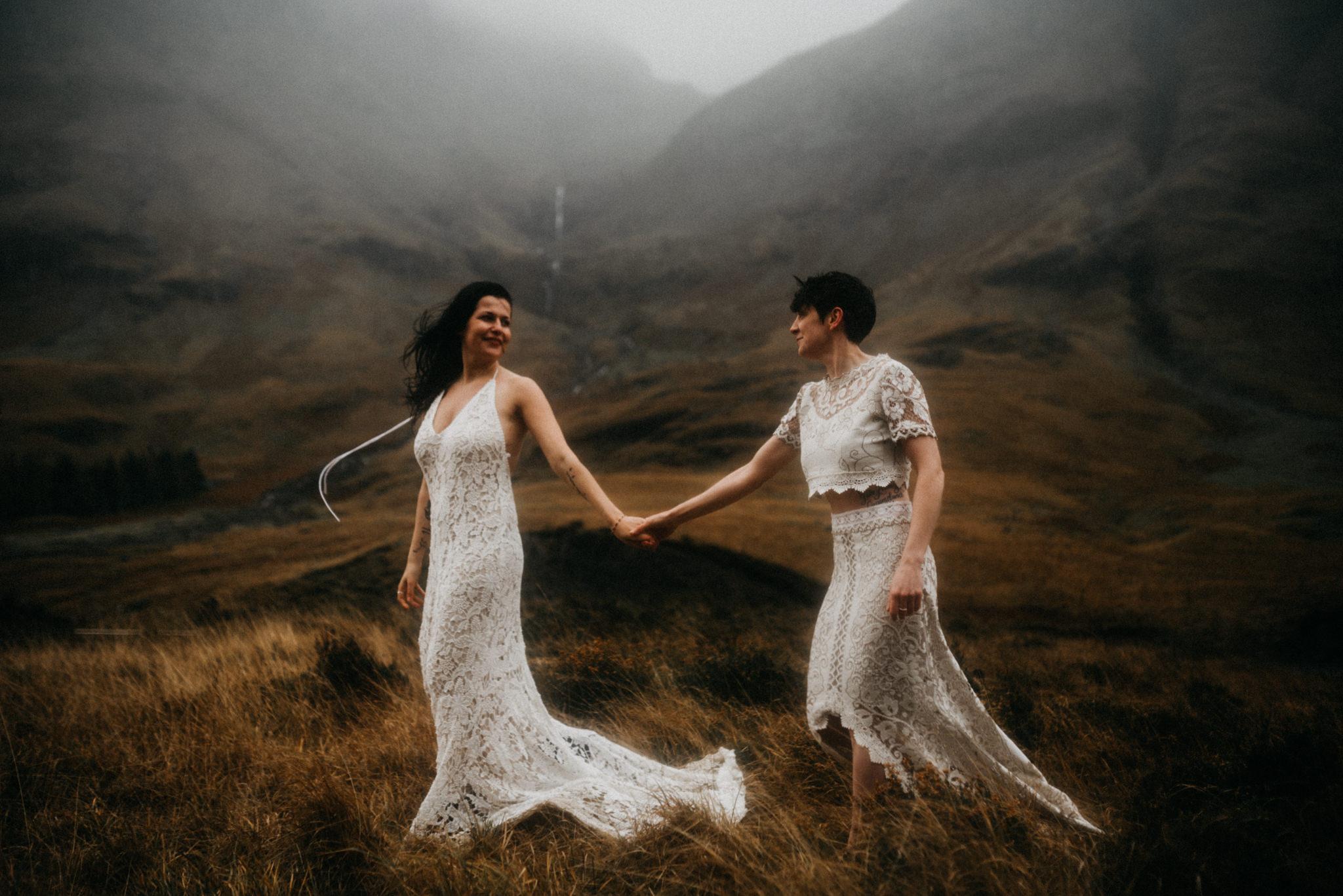 twyla jones photography - scotland glencoe moody same sex elopement brides -16.jpg