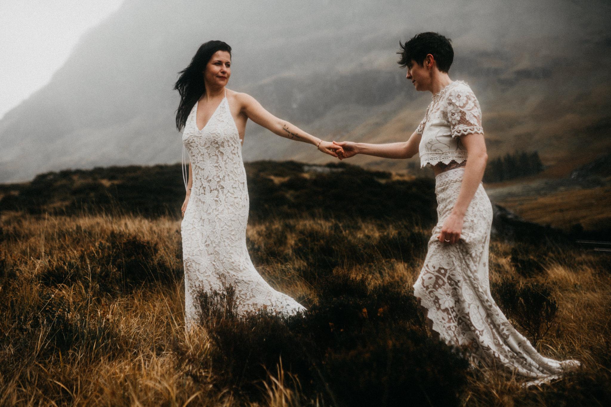 twyla jones photography - scotland glencoe moody same sex elopement brides -18.jpg