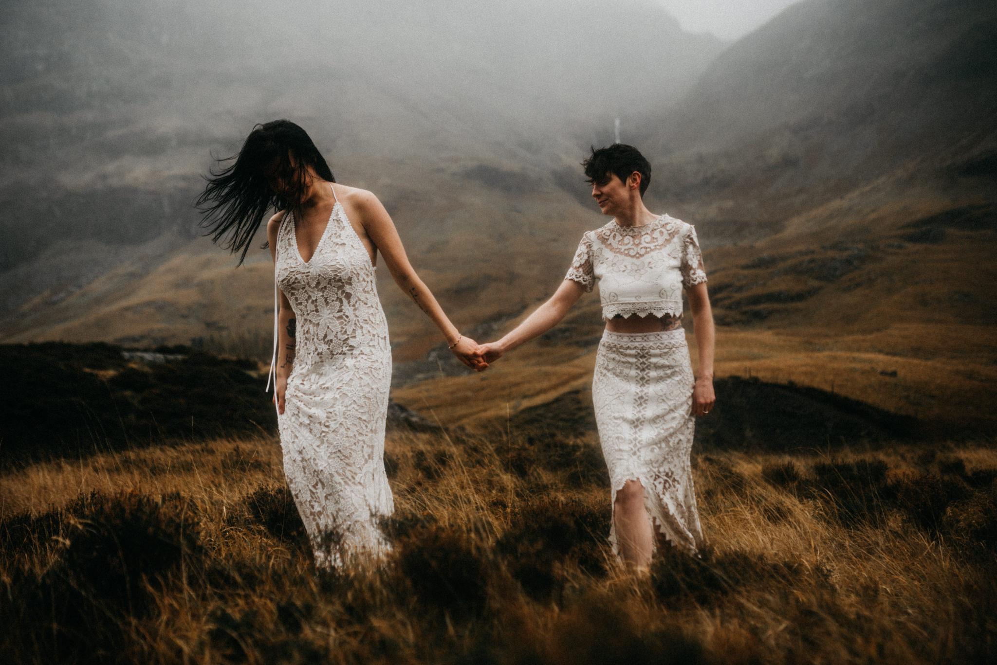 twyla jones photography - scotland glencoe moody same sex elopement brides -21.jpg