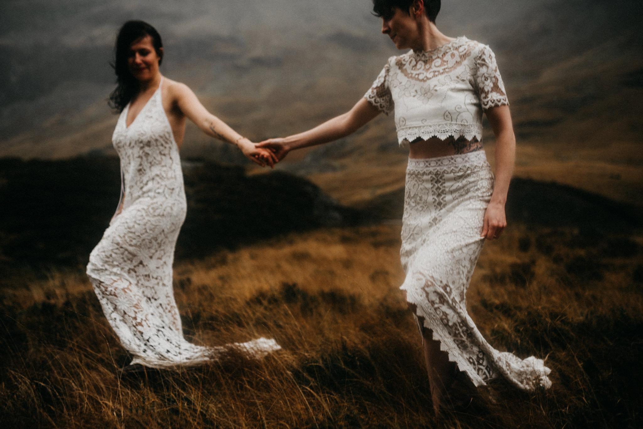 twyla jones photography - scotland glencoe moody same sex elopement brides -24.jpg