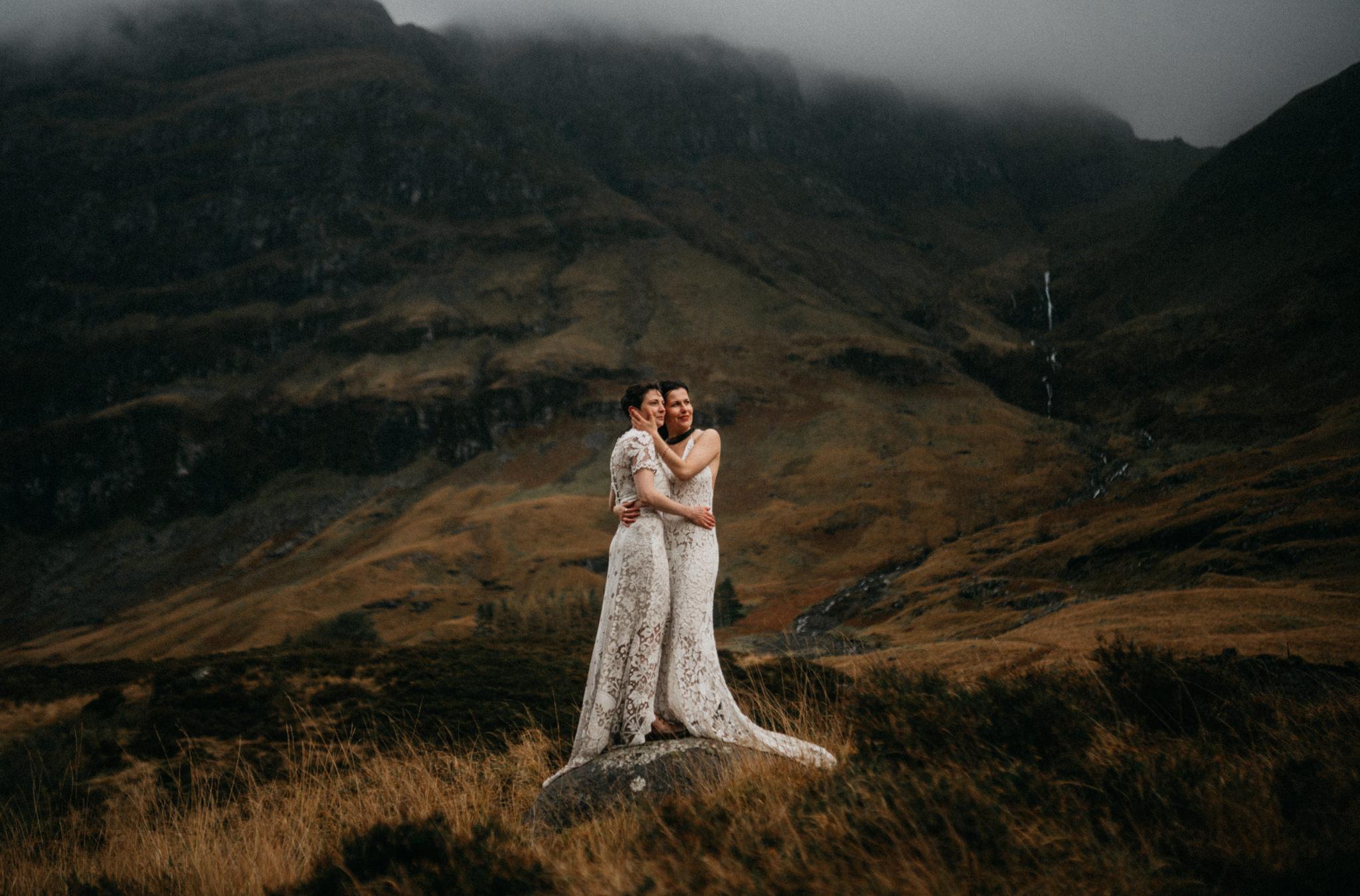 twyla jones photography - scotland glencoe moody same sex elopement brides -54.jpg