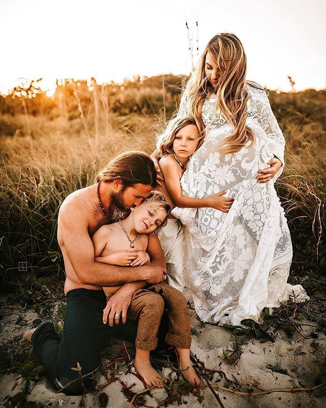 Just before our wild one joined us. . Photo by the loveliest @locke.photography