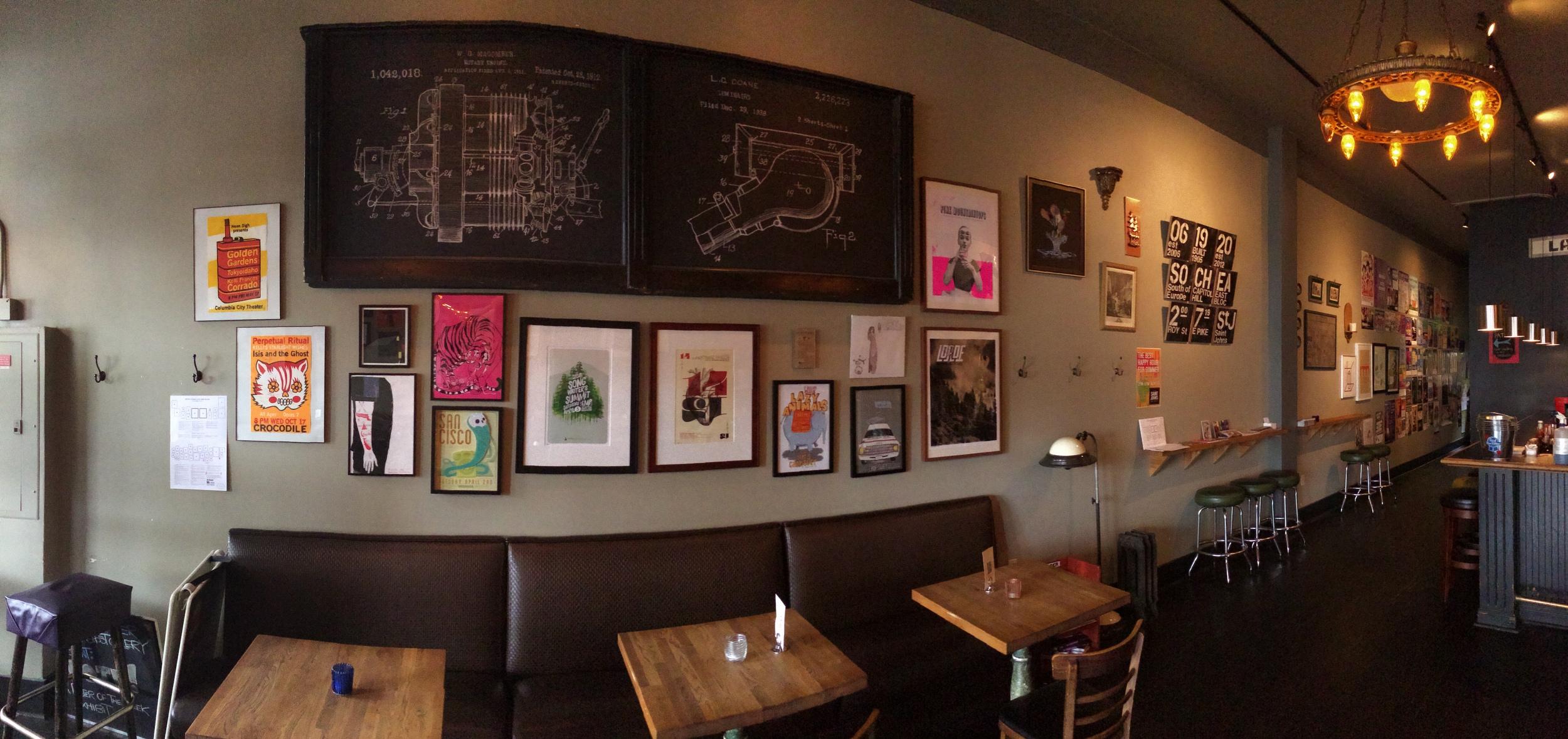 East Wall @ Saint John's Bar & Eatery