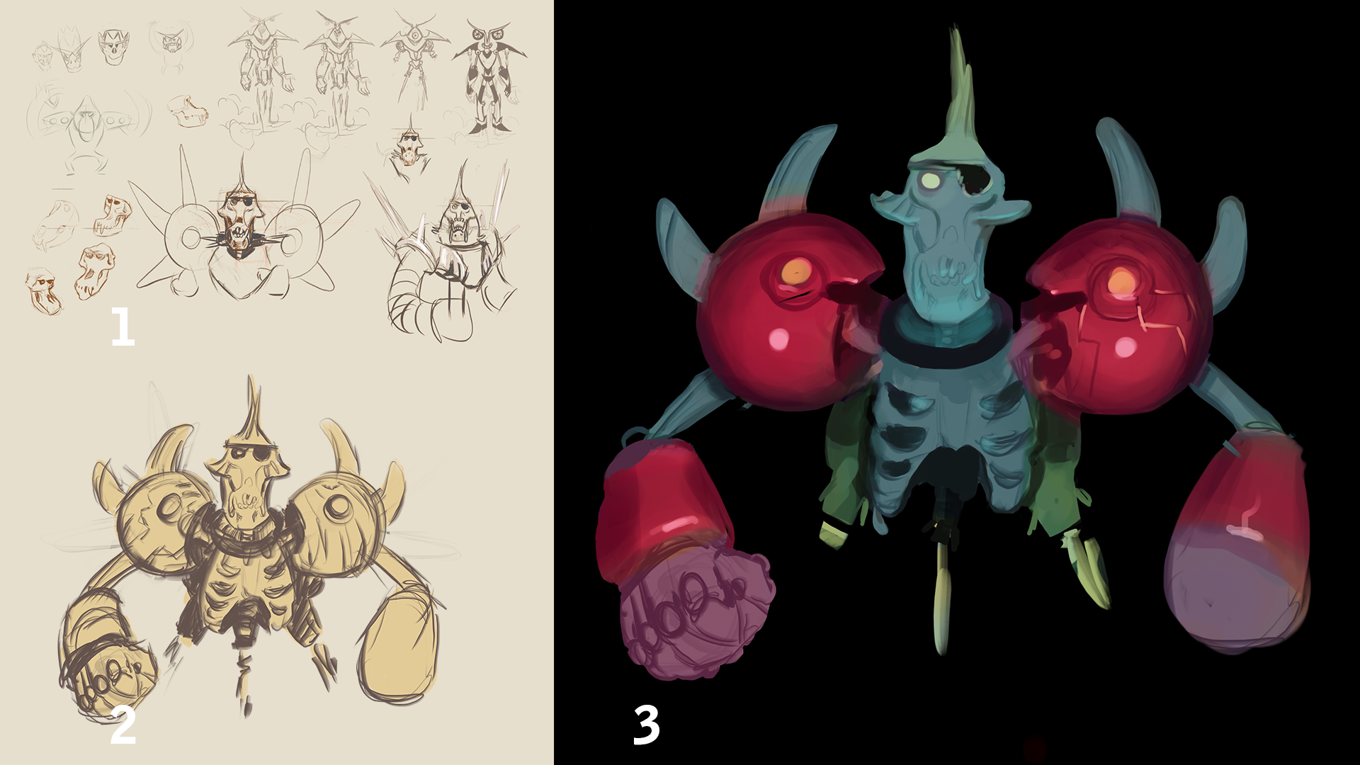 Enemy roughs to color study.png