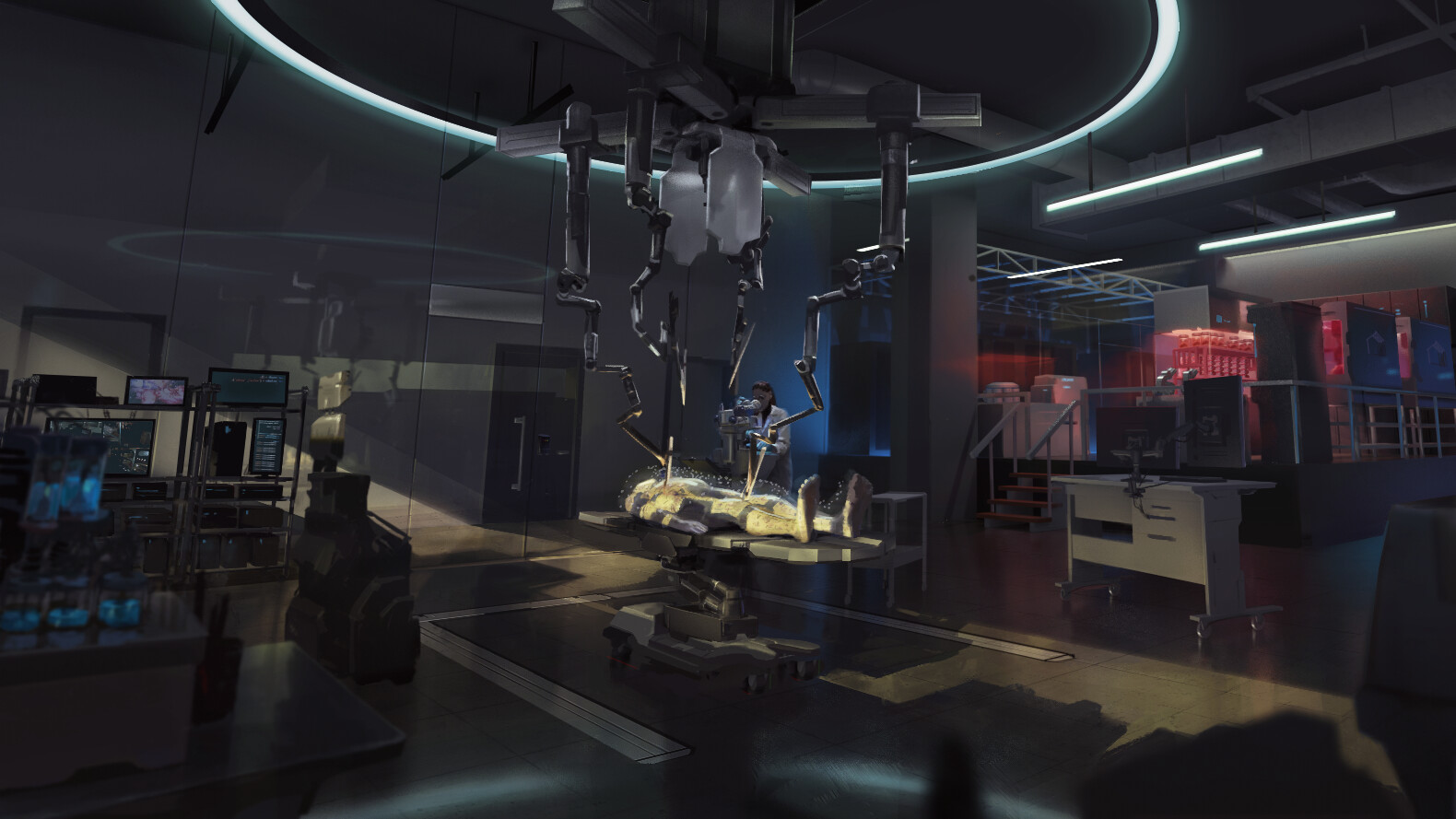 Surgical Theatre concept