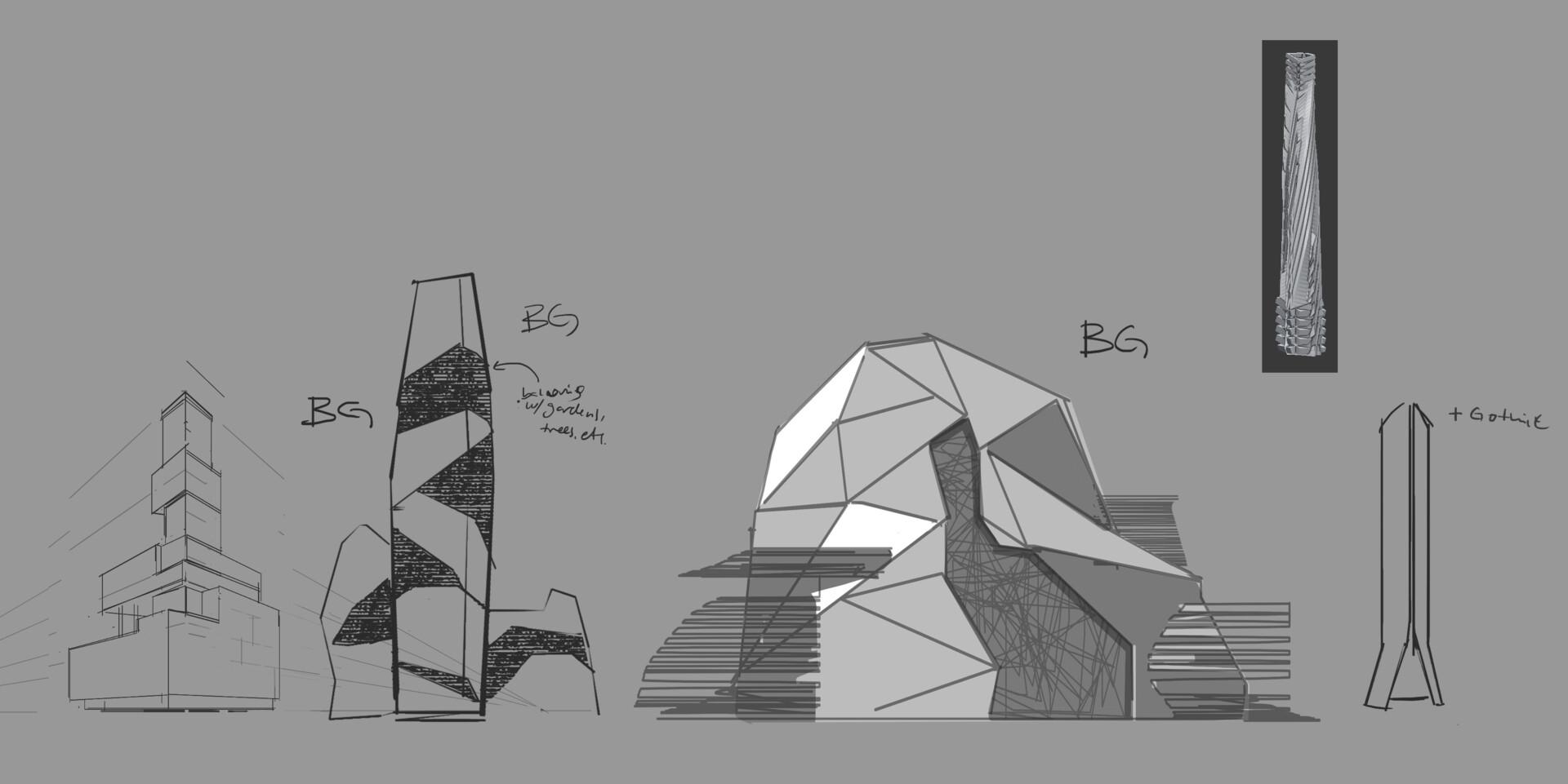 Building explorations
