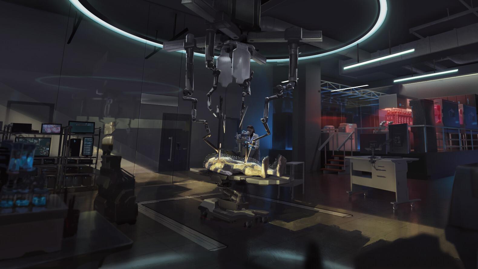 Frankenstein's lab - Surgical Theatre (Gallery)