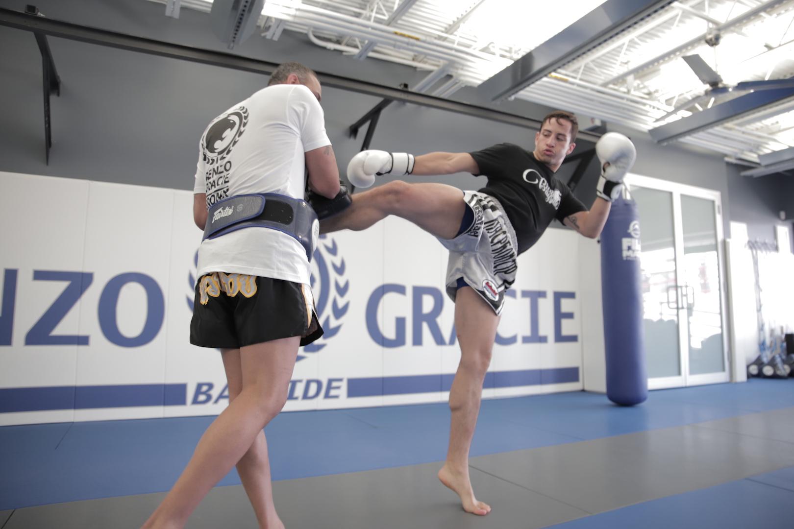 Muay Thai Kick boxing at Bayside.JPG