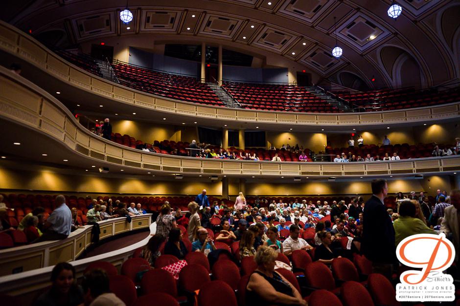 Auditorium Girl Graduation | Portland Ma